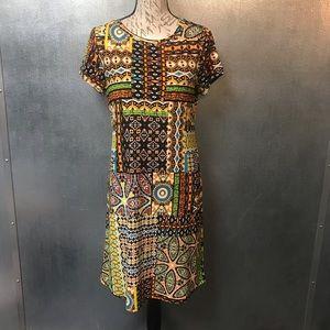 Calvin Klein Tribal Dress